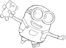 printable 22 cute despicable minion coloring pages 4330 cute