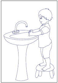 Hand Washing Coloring Sheets - free coloring pages of handwashing 18330 bestofcoloring com
