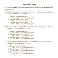 chapter summary outline template within chapter summary template