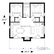 bungalow open floor plans modern 2 bedroom floor plans 2 bedroom modern house plans small