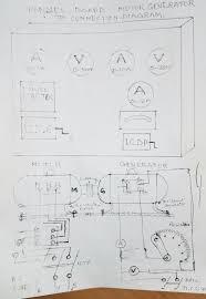 motor generator circuit diagram mg set control panel cti