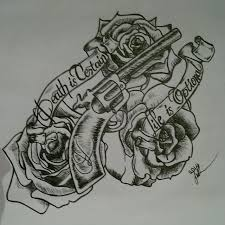 tattoo design gun n roses by princessjade88 on deviantart