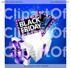 black friday sale sign clipart of an arrow shaped marquee black friday sale sign over a