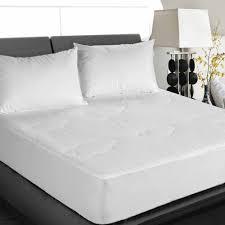cottonloft all natural down alternative cotton filled mattress pad