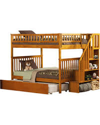 On Sale NOW  Off Shyann Full Over Full Bunk Bed With Trundle - Full over full bunk bed with trundle