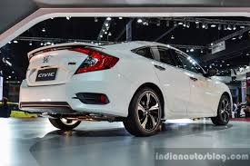 Honda Civic India Interior New Honda Civic To Be Made In India At The Greater Noida Plant