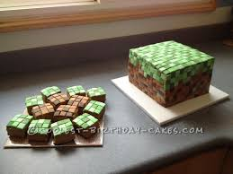 giant minecraft grass block cake minecraft cake birthday cakes
