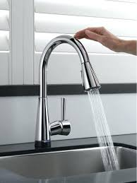 best touchless motion sensor powered touch kitchen faucet best motion sensor powered pull kitchen