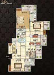floor plan of victoryone amara noida extension victoryone