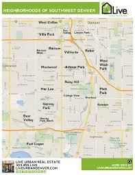Map Of Phoenix Metro Area by Denver Neighborhood Map L Find Your Way Around Denver L
