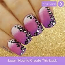 ombre leopart print nail design u2013 mitty nail art tools u0026 brushes