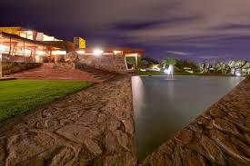 dramatic nighttime photographs of frank lloyd wright u0027s desert