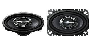 pioneer 4x6 ts a4675r 4 x 6 3 way speaker pioneer electronics usa