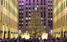 rockefeller tree lighting 2017 performers rockefeller christmas tree lighting attracts thousands