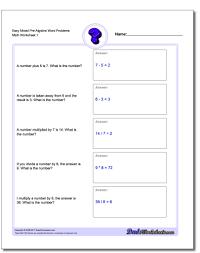 pre algebra word problems