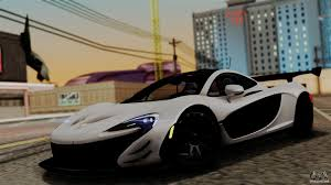 mclaren supercar p1 mclaren p1 gtr vs 2013 for gta san andreas
