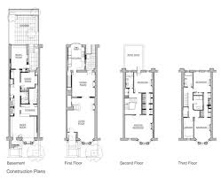 100 brownstone row house floor plans what is a row house