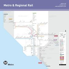 Seattle Link Rail Map Go Metro To See Your L A Rams This Season The Source
