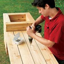 Deck Planters And Benches - how to build a planter bench planter bench planters and bench