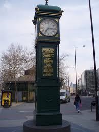 London Clock Tower by File London Borough Of Islington Angel Clock Tower Jpg