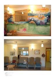Hand Painted Wall Nursing Home Idea Decor Hand Painted - Nursing home interior design