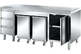 meuble cuisine inox meuble de cuisine inox meuble inox central 1 porte 3 tiroirs et 2
