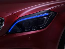 nissan altima led headlights refreshed mercedes cls gets multibeam led headlights motor trend wot