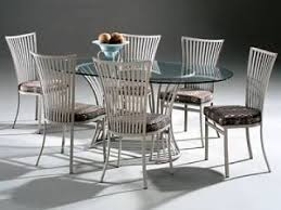 metal dinette sets metal and glass dining tables u0026 chairs