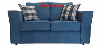 teal chenille fabric two seat sofa sofas direct