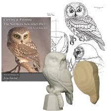 owl wood carving kit saw whet owl
