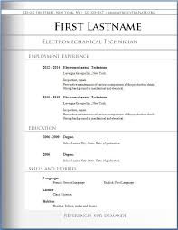 The Best Resume Templates Free Resume Templates Best Resume Templates Free Best Free Resume