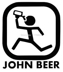 jeep beer decal monster sticker car windows bumper decal kids room small car on