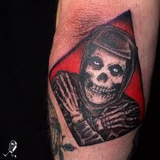 misfits crimson ghost by dedleg tattoonow
