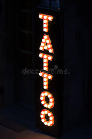 tattoo sign stock photo image 49131421