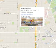 International Mall Map Hours Northpark Center Dallas