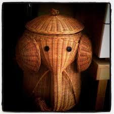 white wicker rattan elephant hampers u2013 rattan creativity and
