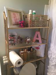 Pink Bathroom Storage Kate Spade Inspired Bathroom Organization Lilly Pulitzer Bathroom