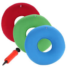 new inflatable ring round pillow donut chair pad hip support
