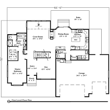 1 story house plans with basement neoteric 3000 sq ft house plans with walkout bat 4 one story over
