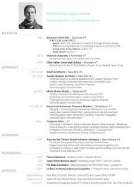 architectural resume examples the 25 best architect resume ideas