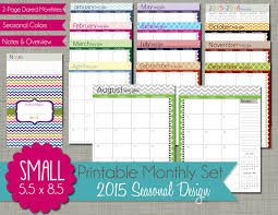 printable january 2016 weekly planner horizontal weekly planner printable etame mibawa co