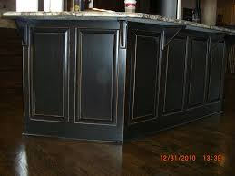 cimg3720 black lacquer distressed look on kitchen island flickr