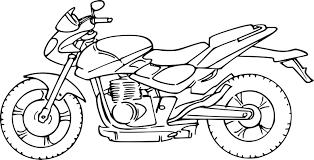coloriage moto de course dessin à imprimer sur coloriages info