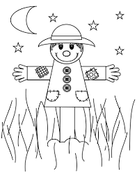 unique scarecrow coloring pages 94 in coloring print with