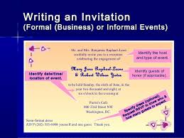 how to write letters of invitation lessons tes teach
