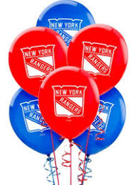 deliver balloons nyc nhl new york rangers party supplies party city