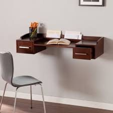 harper blvd shaw white wall mount desk free shipping today