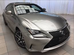 lexus rc 350 f sport used certified 2015 lexus rc 350 f sport 1 owner 2 sets of tires awd