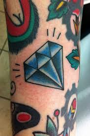30 traditional diamond tattoos