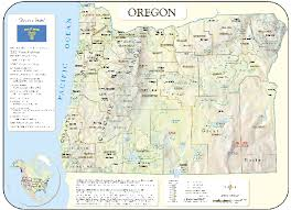 map of oregon with counties oregon wall maps national geographic maps map quest rand
